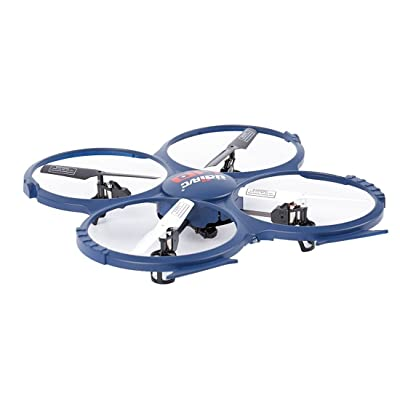 UDI RC Discovery 2.4GHz 4 CH 6 Axis Gyro RC Quadcopter with HD Camera RTF: Toys & Games