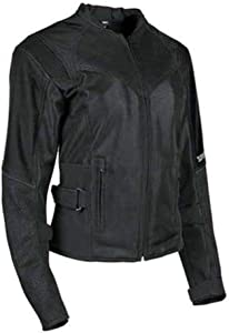 Speed and Strength Sinfully Sweet Mesh Women's Street Motorcycle Jacket - Black/X-Small