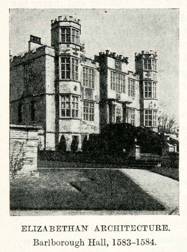 1922-print-elizabethan-architecture-barlborough-hall-derbyshire-england-smythson-original-halftone-p