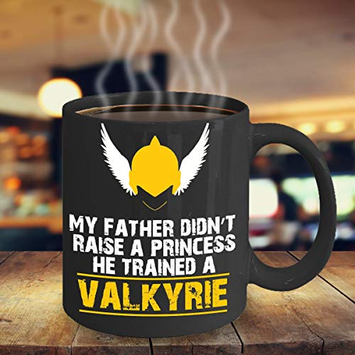 Valkyrie Mug, Valkyrie Gift, Warrior Princess, Daddy's Little Girl, For Valkyrie, Daughter Gift, Daughter Mug, Gift For Her, Little Valkyrie