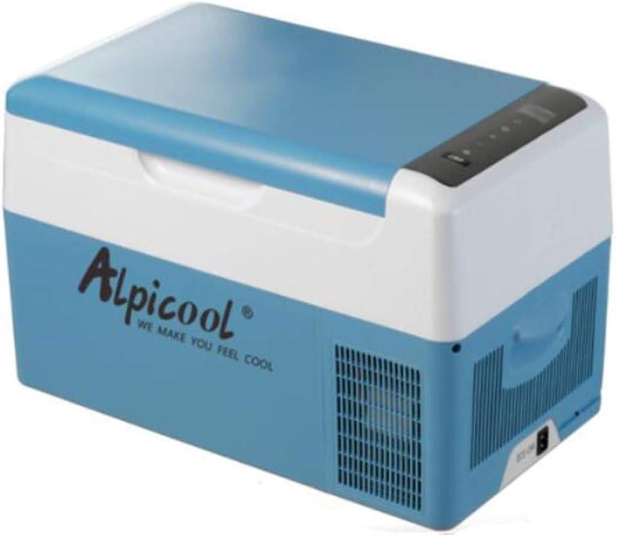XHYRB カー冷蔵庫、12V24Vミニ冷凍庫、カー ミニ冷凍庫、ポータブル冷蔵庫 (Color : Blue)