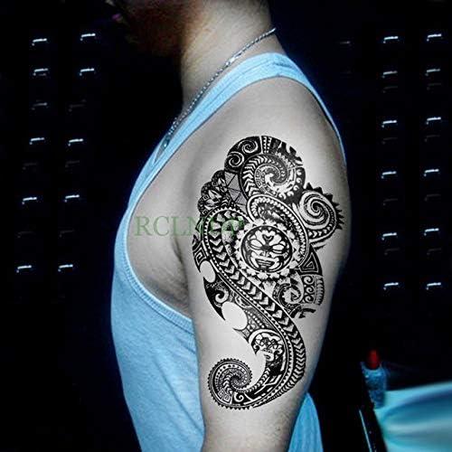 ljmljm 3 Pcswaterproof engomada del Tatuaje del tótem Tribal ...