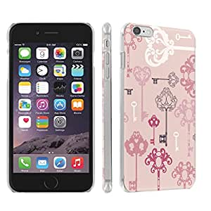 Skinguardz Iphone 6 Plus (5.5) (Pink Keys) Ultra Slim Light Weight Plastic Cover Case