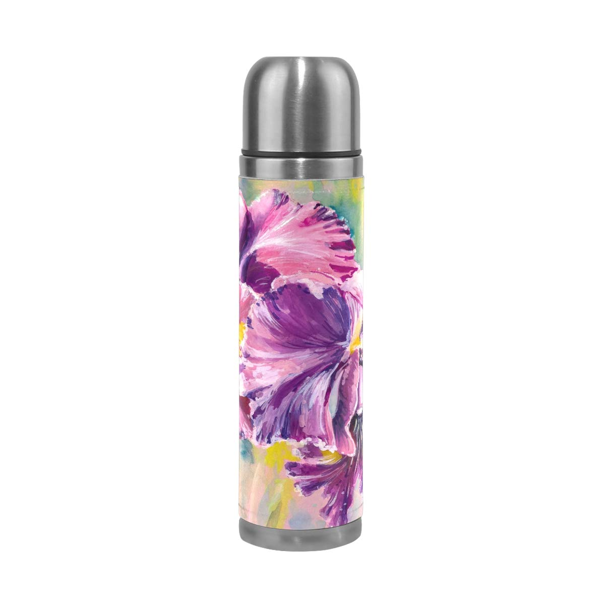 FORMRS-Thermos-Vacuum-Cup-Orchid-Flowers-Insulated-Stainless-Travel-Mug-for-Men-Women-Kids