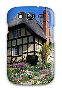 Galaxy S3 Case Cover Spring Garden England Case - Eco-friendly Packaging by lolosakes