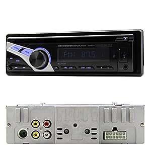 Est¨¦reo panel frontal desmontable OUYD894B2 Uno Universal Din Car Car Stereo Radio Reproductor de CD Unidad principal USB MP3 SD AUX FM transimitter con el control remoto