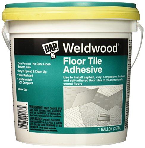 Dap 137 Floor Tile Adhesive Gal Raw Building Material, Gallon, Clear