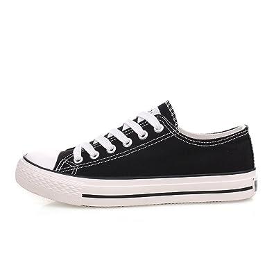 Geschnürte Schuhe/Bonbonfarbenen Turnschuhe/Feste Schuhe für Männer und Frauen/Casual koreanische Version der Schuhe/einzelne Schuhe/Student-Schuhe-A Fußlänge=25.8CM(10.2Inch) MfhSAhI