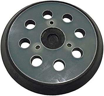 Makita 743081-8 5-In Round Hook and Loop Backing Standard Replacement Pad 8-hole