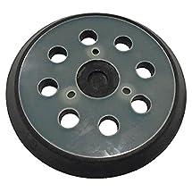 Makita 743081-8 5-Inch Round Hook and Loop Backing Pad (8-hole)