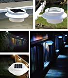 4 Pack Deal - FALOVE Outdoor Solar Gutter LED