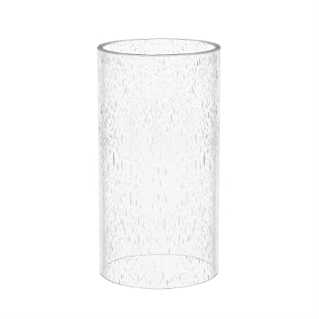 Amazon eumyviv a00002 straight cylinder clear bubble glass lamp eumyviv a00002 straight cylinder clear bubble glass lamp shade aloadofball Gallery