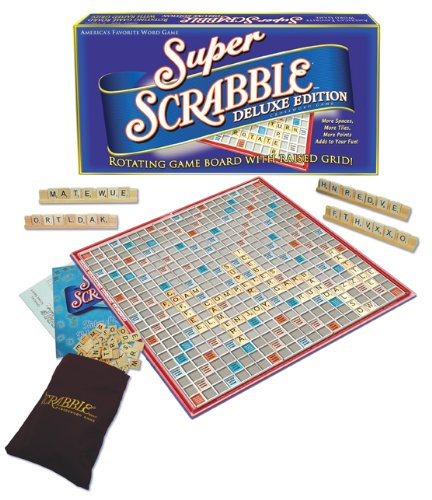 Winning Moves Games Super Scrabble Deluxe Edition
