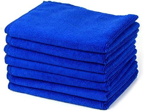 YSHtanj auto schoonmaken en onderhoud handdoek multifunctionele waterabsorberende zachte microvezel handdoek snel drogen auto wassen gereedschapblauw