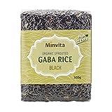 Minvita Organic Sprouted Black GABA Rice - 500g (1.1lbs)