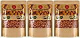 Organic Bitter Apricot Kernels(1LB) 16oz, Natural Raw USDA Organic Bitter Apricot Seeds, Vegan, Non-GMO, Gluten Free, Great source of Vitamin B17 and B15 (3 Pack)
