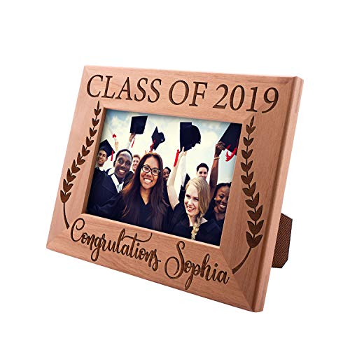 UnitedCraftSupplies Graduation Gifts Personalized Picture Frames for Graduation 8x10, 5x7, 4x6-2019 Graduation Gifts for Her Him MBA Collage High School #2