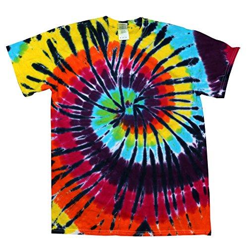 Youth Tie Dye - Colortone Tie Dye T-Shirts 14-16 (LG) Lava Lamp