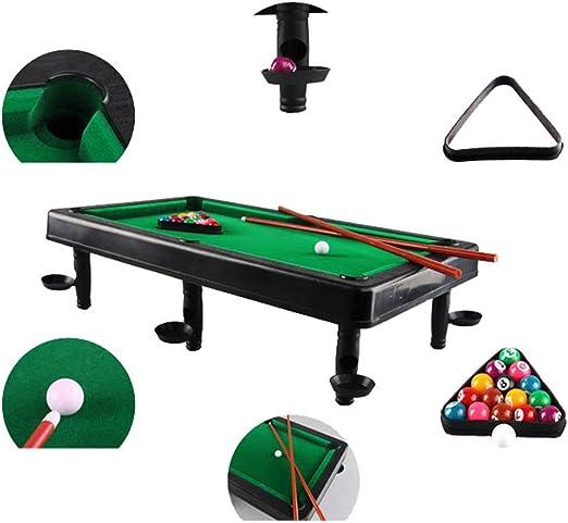 NGB Min Billiards – la Mesa de Billar clásico Juego de niños Juguete de Interior Deportes con Bolas y Otros Accesorios: Amazon.es: Deportes y aire libre