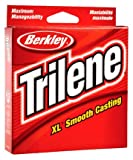 Berkley Trilene XL Smooth Casting Monofilament Service Spools (XLEP8-15), 1000 Yd, pound test 8 - Clear