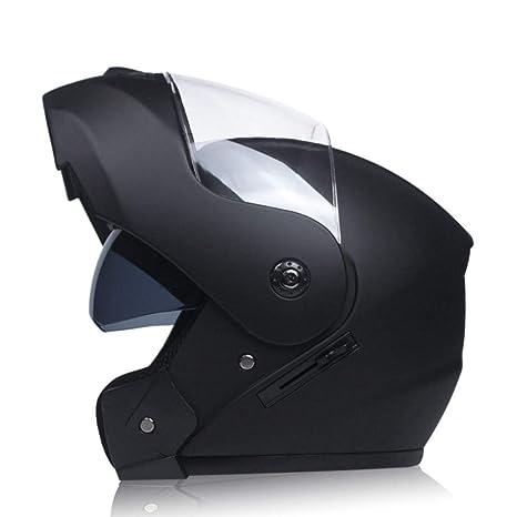 Amazon.com: Vanell - Casco de motocicleta de doble visera ...