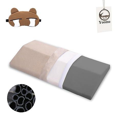Yoome - Almohada de espuma viscoelástica para dormir para ...