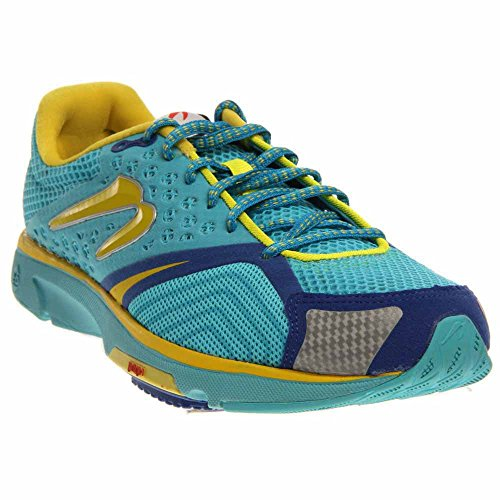 's Distance S III Aqua/Yellow 9 B - Medium (Newton Running Shoes)