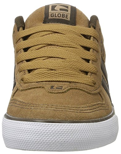 Globe GlobeEncore-2, Zapatillas de Skateboard Hombre Marrón (Tan/Brown)