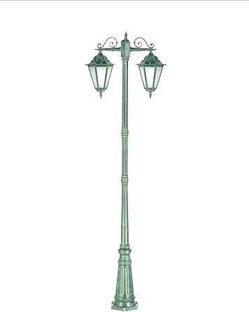 lisb327.c24 – Iluminación para Exterior Farol Farol Jardín – Producto de Italia de Valastro Lighting: Amazon.es: Iluminación