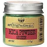 Prima Marketing Finnabair Art Ingredients Mica Powder, 0.6 oz, Green
