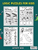 Logic Puzzles for Kids Ages 4-8: A Fun Educational