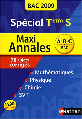 MAXI ANNALES TERM S 2009