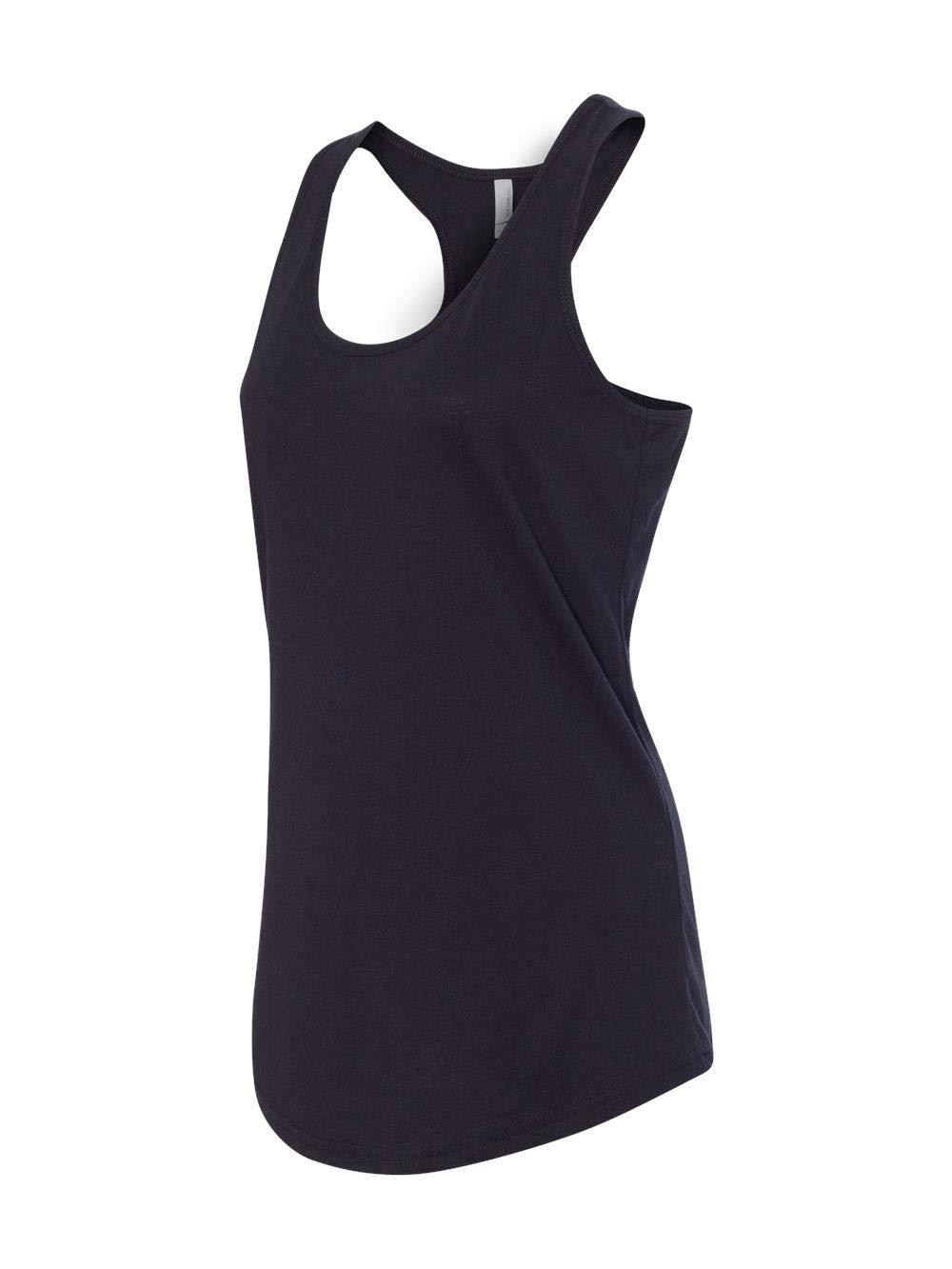 Next Level Apparel Women's Tear-Away Tank Top, Black, Medium