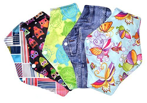 Supreme Comfort Reusable Cloth Sanitary Napkins Menstrual Panty Pads With Premium Bamboo And...
