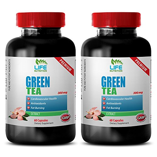 Weight loss quick boost - GREEN TEA EXTRACT 300mg - Green tea diet - 2 Bottle (120 Capsules)
