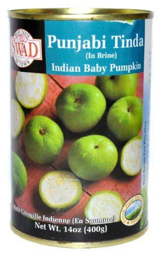 Swad Punjabi Tinda in brine (Indian Baby Pumpkin) - 14oz