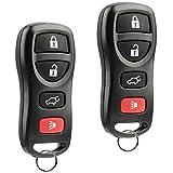 Key Fob fits 2004-2008 Nissan Armada / Infiniti QX56 2005 2006 2007 Keyless Entry Remote (KBRASTU15), Set of 2