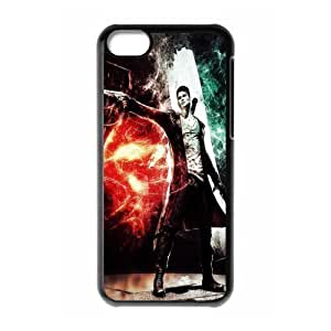 Michael paytosh's Shop Design 1 Game DevilMay Cry 4 Print Black Case With Hard Shell Cover for Apple iPhone 5C 3565356M68768518