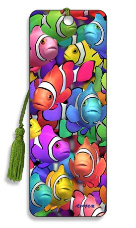 Artgame - Clown School - 3D Bookmark -