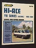 Toyota Hi-Ace Petrol 1.8, 2.0, 2.2 Ltr (1983-89)