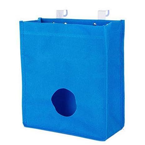 Da. WA Back dispensador de Soporte de Bolsa de Basura Bolsa de la Compra Organizador Basura contenedor de Bolsas para Cocina
