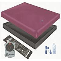 FREE FLOW WATERBED MATTRESS / LINER / HEATER / FILL DRAIN / CONDITIONER KIT (Queen 60x84 1FFG2)