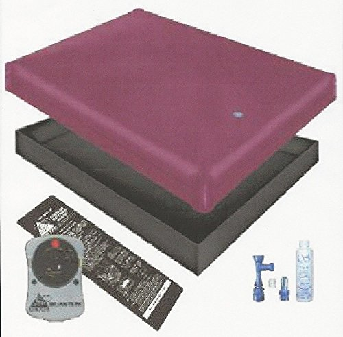 FREE FLOW WATERBED MATTRESS / LINER / HEATER / FILL DRAIN / CONDITIONER KIT (California King 72x84 1FFG1)