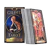 Tarot Card The Gilded Tarot Cards Deck and Guidebook Tarot Guidebook Table Game Cards for Family Gathering Party 78PCS