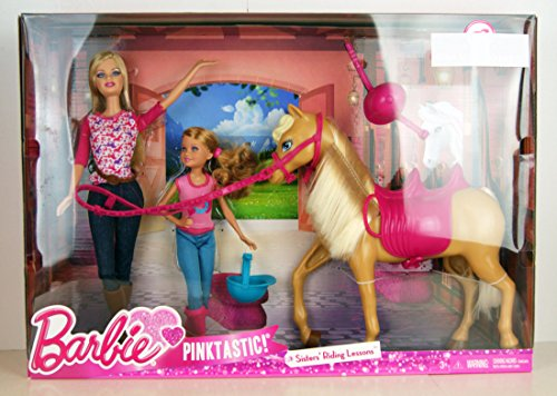Barbie Pinktastic Sisters Riding Lessons ()