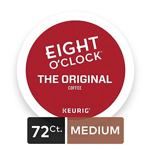Large Product Image of Eight O'Clock Coffee The Original Keurig Single-Serve K-Cup Pods, Medium Roast Coffee, 72 Count (6 Boxes of 12 Pods)