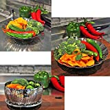Vegetable Steamer - Steamer Basket - Seafood Steamer - Food Steamer 100% Stainless Steel - 5.3