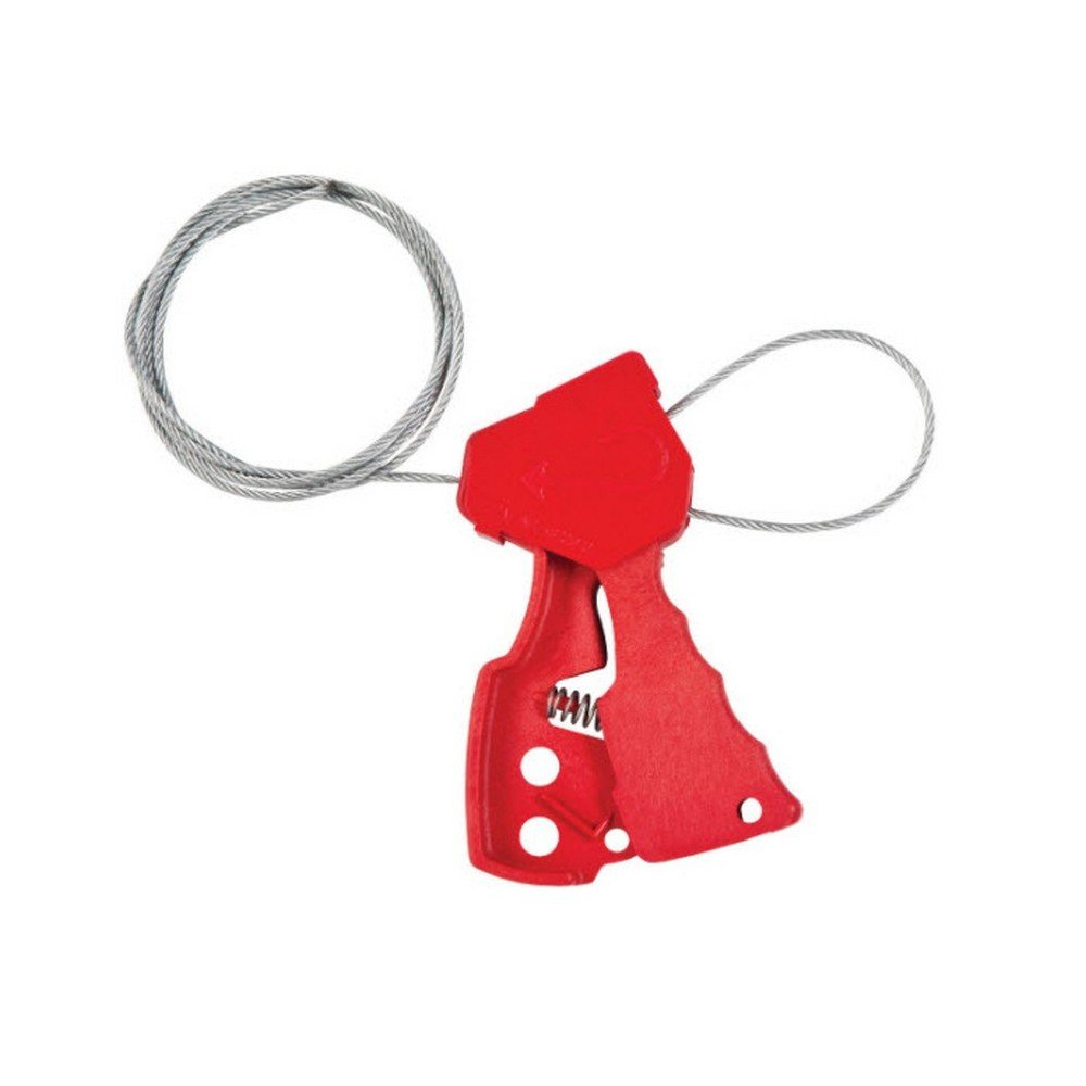 Brady 65318 Original Cable Lockout, 6', Red
