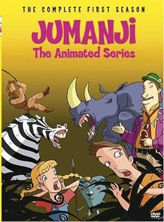 amazon com jumanji the animated series season 1 2 discs bill
