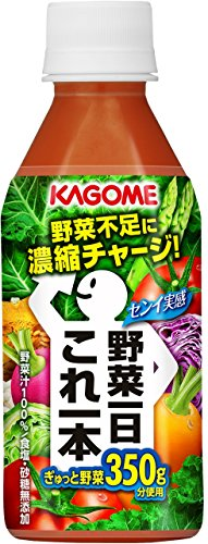 Kagome vegetables the 1st this one 280gX24 this by Vegetables the 1st this single / full